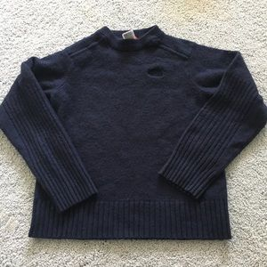 North face wool blend pullover sweater